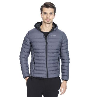 SKECHERS - SKECHERS M FILLED HOOD JACKET ERKEK KABAN